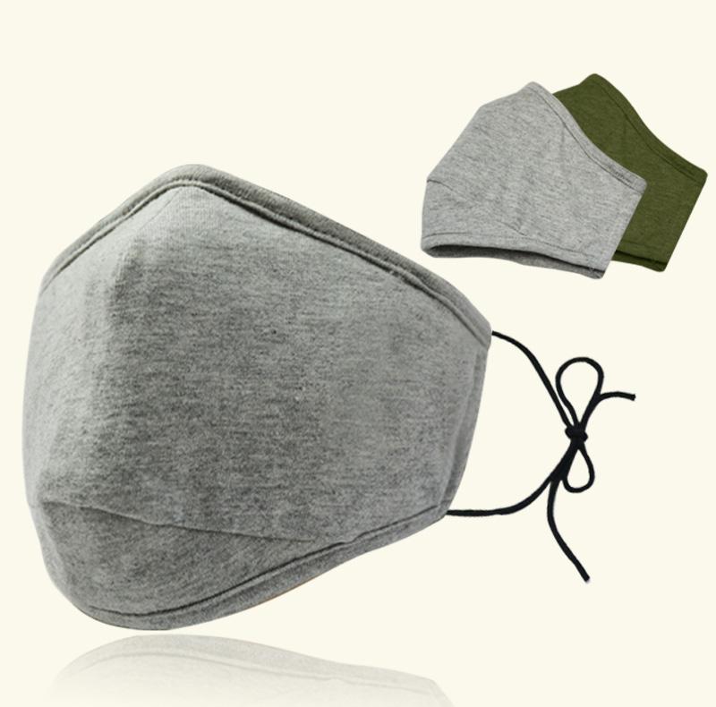 Gesichtsmaske Seide waschbar wiederverwendbare Baumwollgesichtsmaske für Erwachsene Masken Staubdichtes Dunst gedruckt Design facemask Stern Stil
