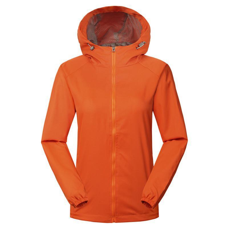 İlkbahar Sonbahar Yürüyüş Ceketler Erkekler Kadınlar Nefes Rüzgar Geçirmez Kapüşonlu Mont Açık Çift Kamp Spor Rüzgarlık