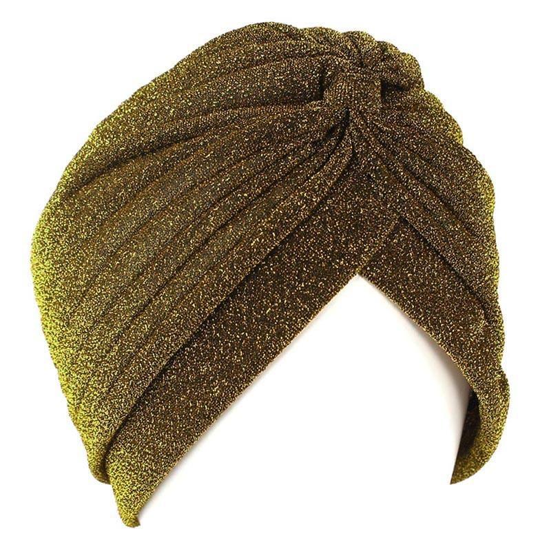 Bright Headband Seta turbante per le donne Musulmani India Cappello Donne Stretch Soft Hajiabs Knot Twist Head Warp Bandanas Accessori per capelli Q BBByy
