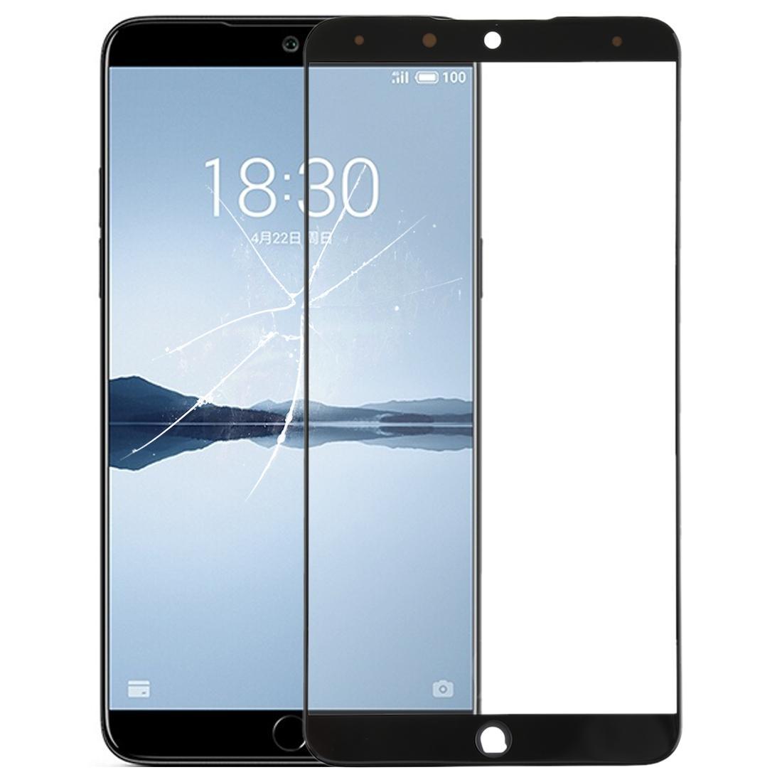 Lentille en verre extérieur à l'écran avant pour Meizu 15 Plus