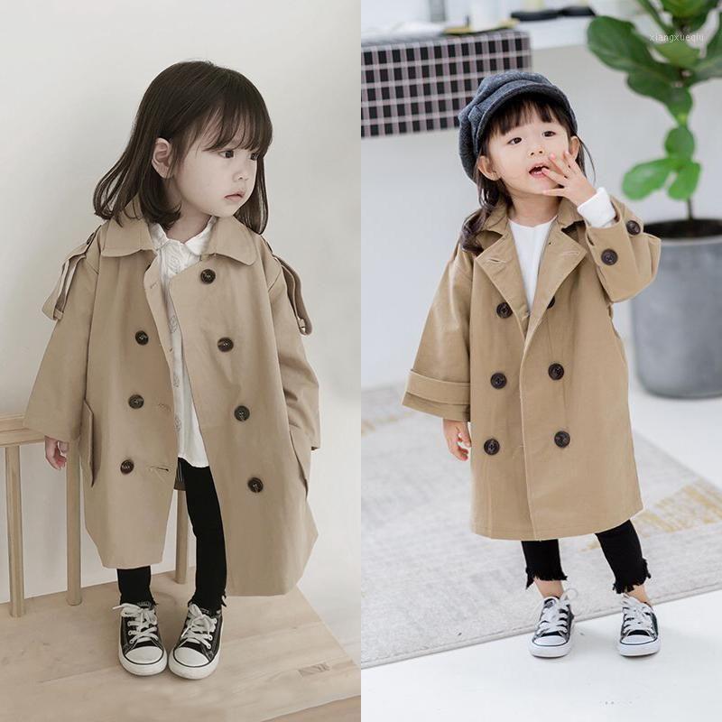3-8T Girls Boy Jackets 2020 Primavera Abrigo de rompevientos para Baby Girl Outerwear Ropa para niños Abrigos para niños Chaqueta Ropa 1