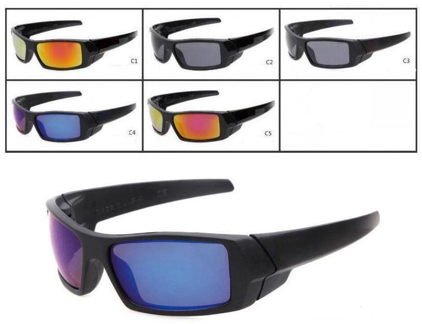 Hommes Sunglasses Lunettes de soleil Sports Vélo UV Lunettes de soleil réfléchissantes Couleurs Femmes UV400 Concepteur Protection de revêtement 5 Lunettes de soleil QFHAK