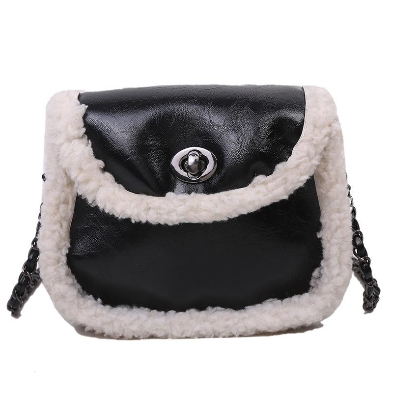 Vita Arrivo Borsa EixDD con donna Banane Bombag Agnello Agnello Nuova borsa Donne Girls Sac Body Fashion Black For Crackle Cintura per capelli Cross Lady 2020 xhhw
