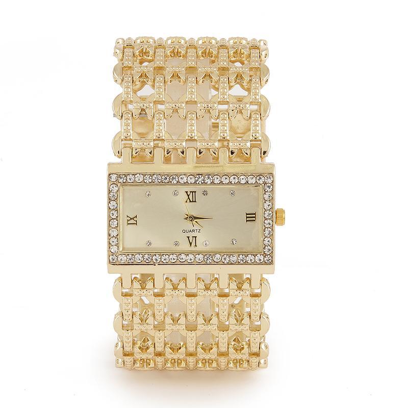 Pulseira Assista Mulheres Moda Senhoras Assista Luxo Gold Women Watches Watches Relógios Relógios Reloj Mujer Montre Femme Relogio J1205