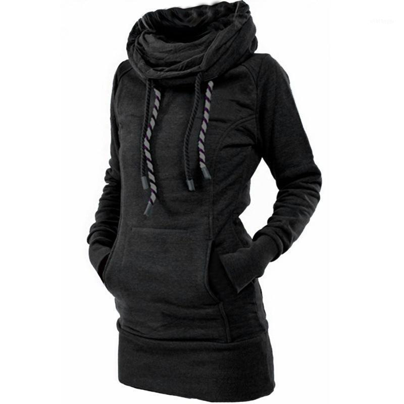 Толстовки зимнего рукава Manubeau Winter для женщин из хлопка с длинным рукавом.