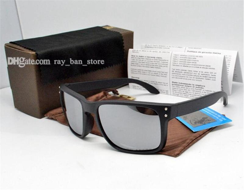 Nueva versión de moda Loguerías Gafas de sol Gafas de sol Gafas de sol TR90 Lente Marco con UV400 Top Gafas Diseñadores Trend Sun Eyewear Box Spo Kauw