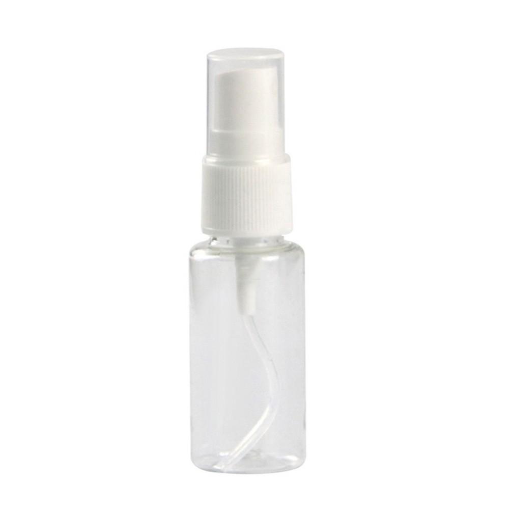 Viagem portátil 5/10/20 / 30/60/80/100 / 120 ml Garrafa de spray transparente pequena regador pode fragrância cosmética