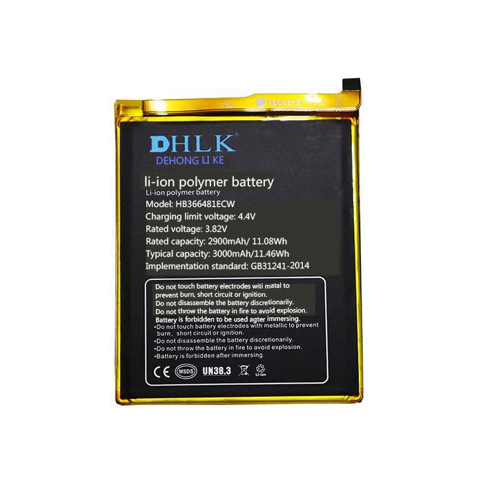 بطارية قابلة للشحن HB366481ECW هي بطاريات الهاتف المحمول مناسبة لهواوي-P9 3000mAh