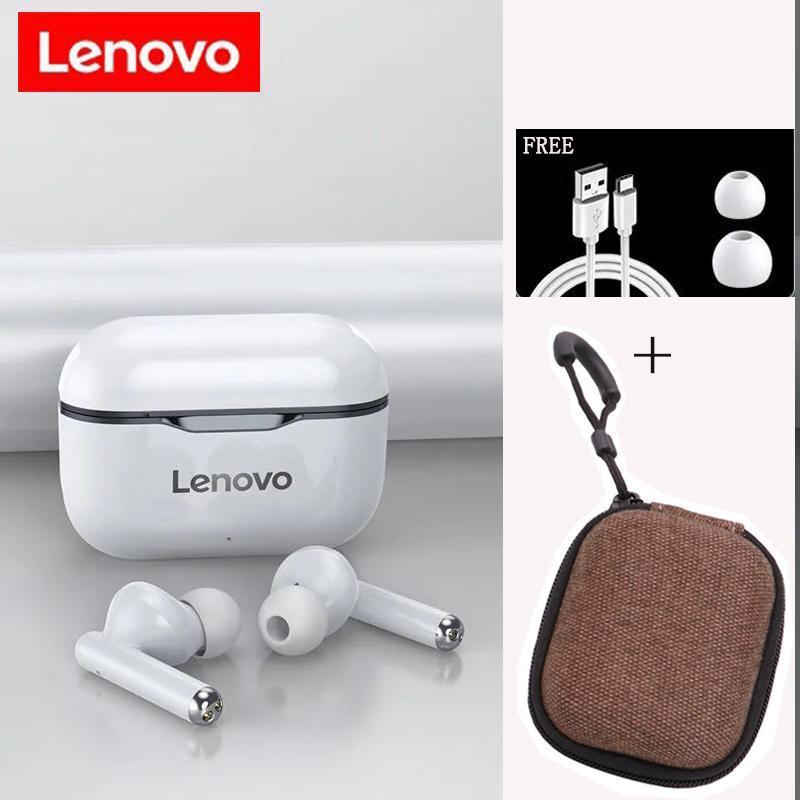 Lenovo LP1 TWS Беспроводной Bluetooth 5.0 Наушники Наушники Наушнивые Наушники Ударные Ударные С помощью Сенсорное управление Microphone Control Авто Connect Headset