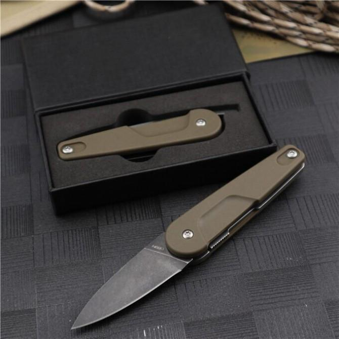 New Extreme ratio (992) black and desert two modles OEM Pocket EDC Knife Outdoor Survival Camping Knife original box Gift Knives bm940 943