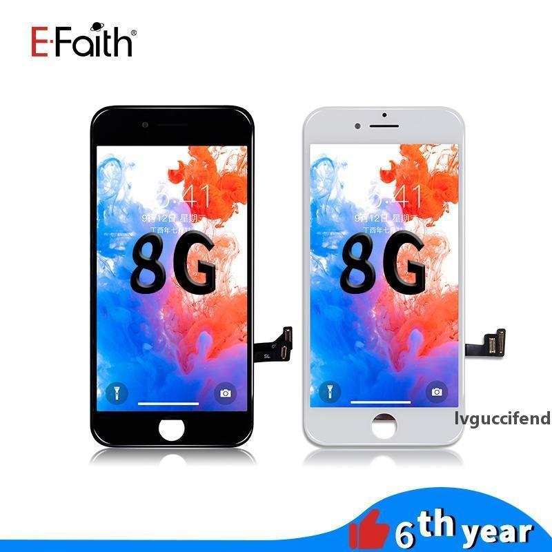 EFAITH Высококачественный ЖК-экран для iPhone 8 ЖК-дисплей Сенсорный Digitizer Сборка Ремонт Ремонт Замена для телефона 8 Бесплатные DHL Доставка