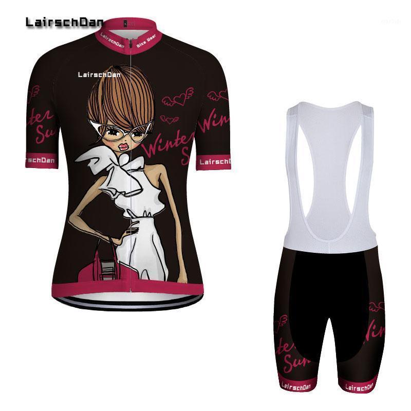 2020 Damen Radfahren Jersey Set Sommer Anti-UV Atmungsaktiv Radfahren Fahrrad Kleidung Schnellgetrocknete Mountainbike Kleidung Set1