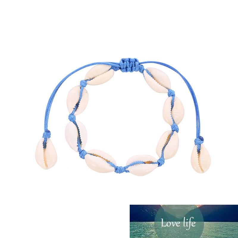 Summer Beach Shell Ankle Bracelet Female Fashion Anklets for Women Simple Foot Jewelry Leg Barefoot Sandals Chain Anklets