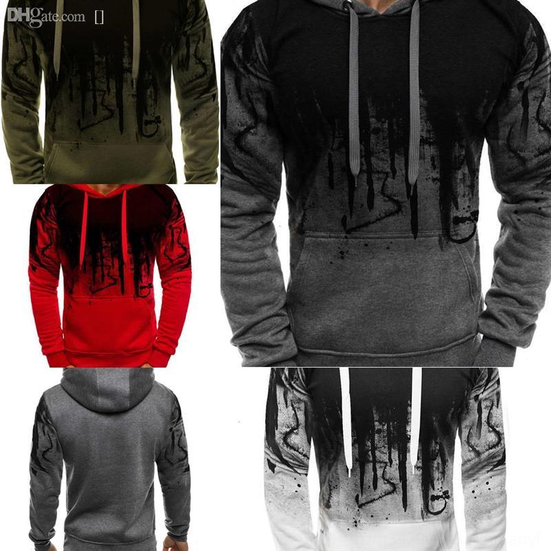 Xhd9x Warm Autumn Christmas Deer Slim Clothing Knitwear Cardigan Casual Fit Jumper Men man brand Splash ink dener 3D printing sweater creati