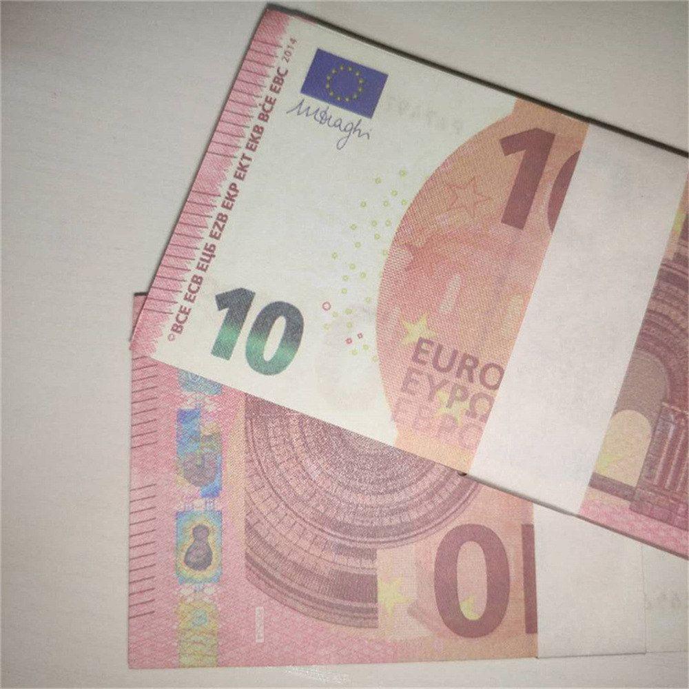 Billete de moneda Copia de regalo Tlkve Props Prop Billete de entrada Hot Billete Faux Realista Juguete Bar Niños LE10-35 IVXIA
