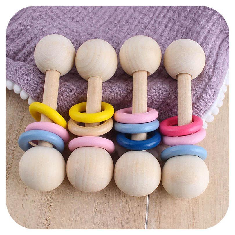 طفل اللعب الطفل عضاضة خواتم الغذاء الصف الزان الخشب الطفل التسنين النماذج الوليد الرضع التسنين الطبيعية عضاضة 20 قطعة / الوحدة B3422