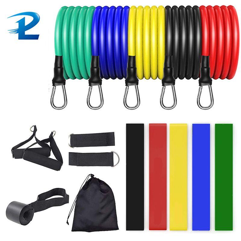Сопротивление полосы сопротивления веревочки спортивный костюм резиновые трубки ремень стрейч тренировка йога фитнес спортивное сопротивление спортивное оборудование для дома J0115