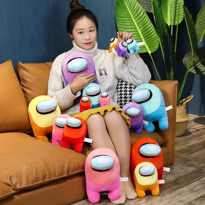 2020 Cartoon Games Around Pillow Among Us Plush Toys NX2E