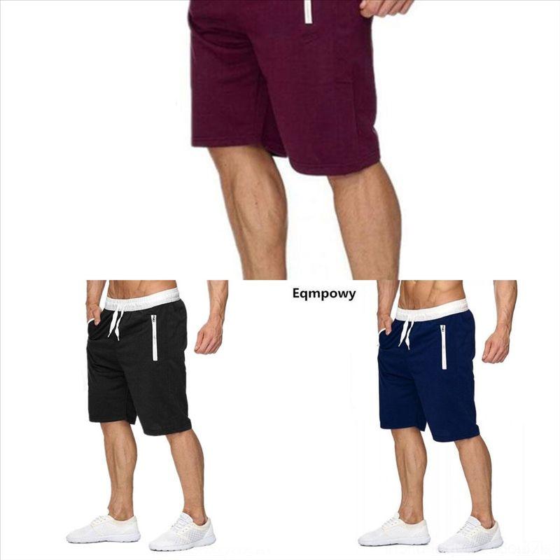 U3WK avec tendance Summer Summer Hommes Casual Hommes Shorts courtes Lettre Prepping Gym Sport en plein air Short pour hommes Beach Hommes Bases -