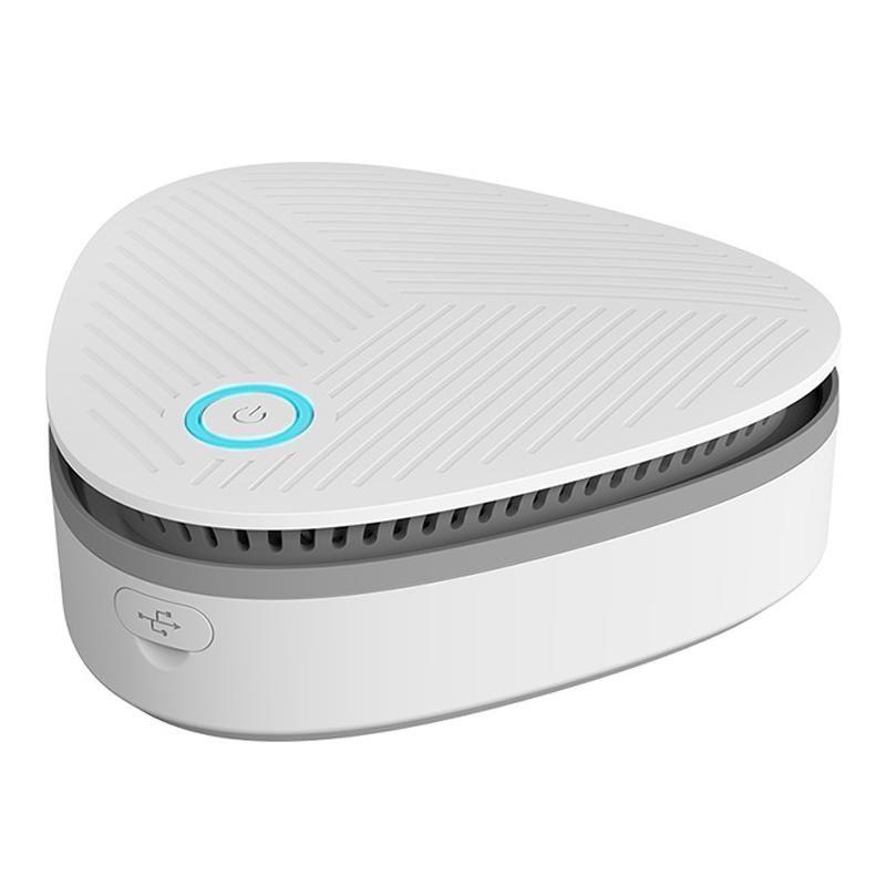 Generatore mini ozono, generatore di ozono portatile, 1800 mA USB ricaricabile, basso rumore per auto frigorifero Deodorizzatore