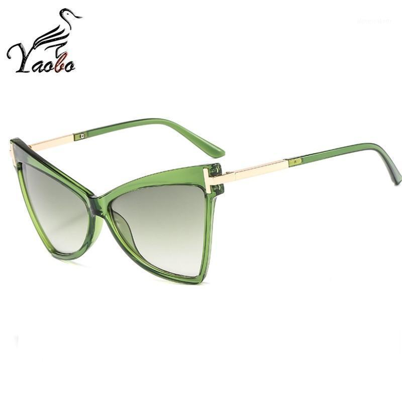 2020 New brand sunglasses Square glasses Personalized cat eyes Colorful sunglasses trend versatile uv4001