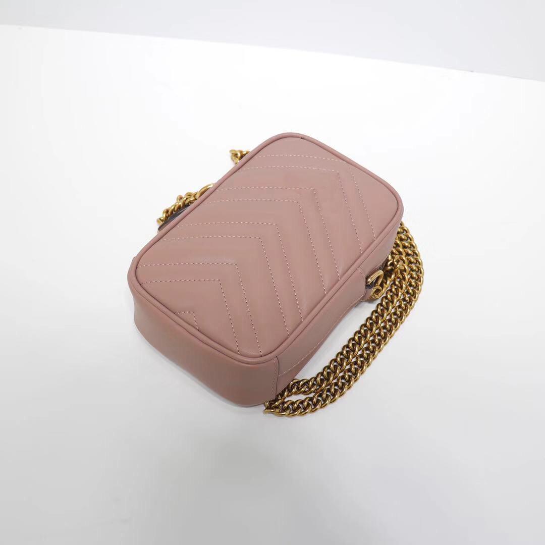 2020 Mini Borsa Borsa in pelle Goluine Oro Spalla d'oro Hardware con Borse Box Luxurys Borsa Colori 26 Catena Crossbody Designer w pbuqr