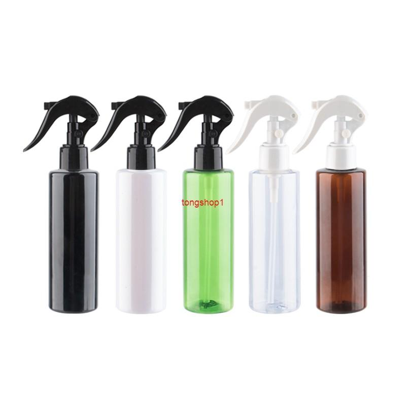 Contenitore di plastica con pompa trigger 150ml 150cc Bottiglie cosmetiche vuote per annaffiare la cucina e il bagno detergente per la pulizia del bagno
