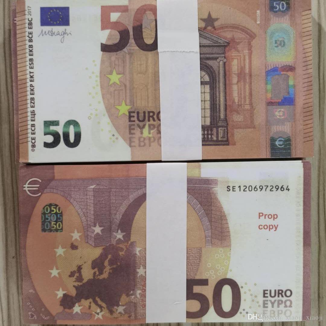 Euros Collection Money Prop Euro Paper Business Money Fake Bills Fake Banknote Paper 10 For Money Eqopu