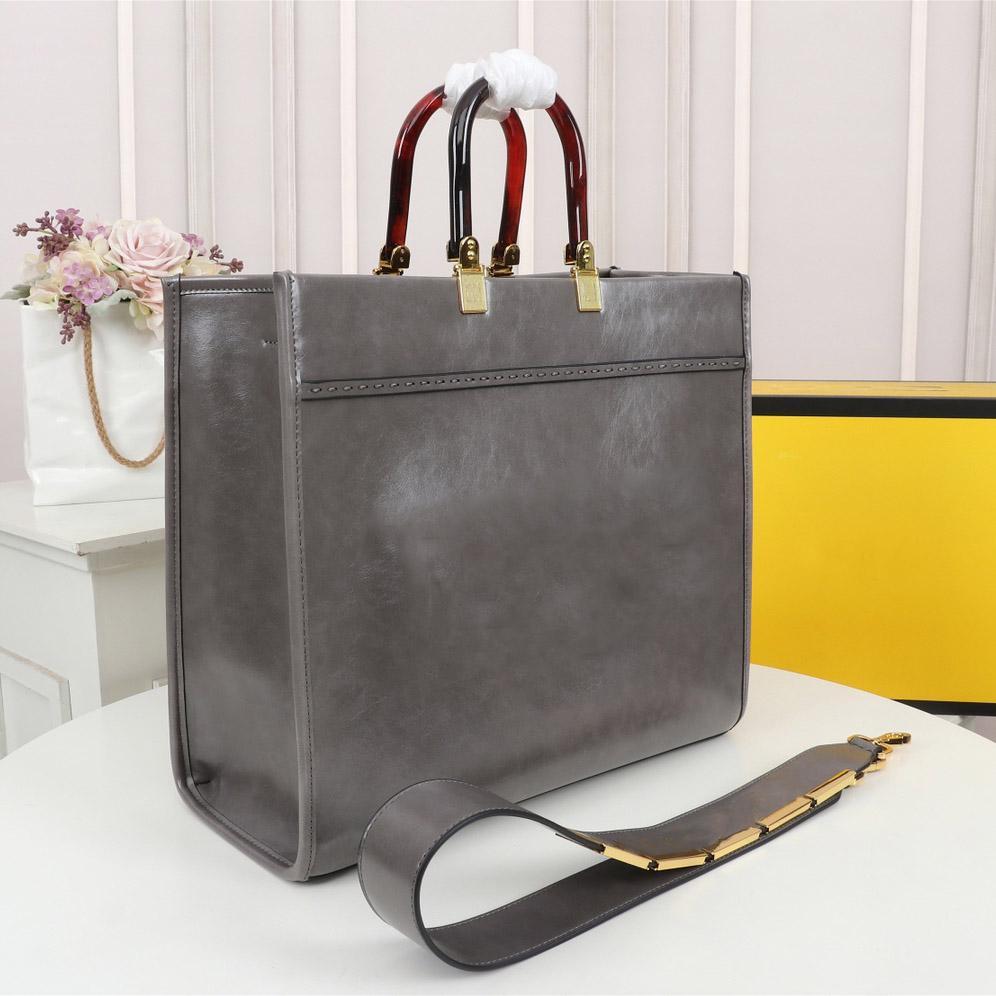 Gestire la capacità Designer Spalla lussurys VNVH Borsa alta Shopping Doppia grande grande materiale Borse in pelle Amber Hot Quali L Jihnx