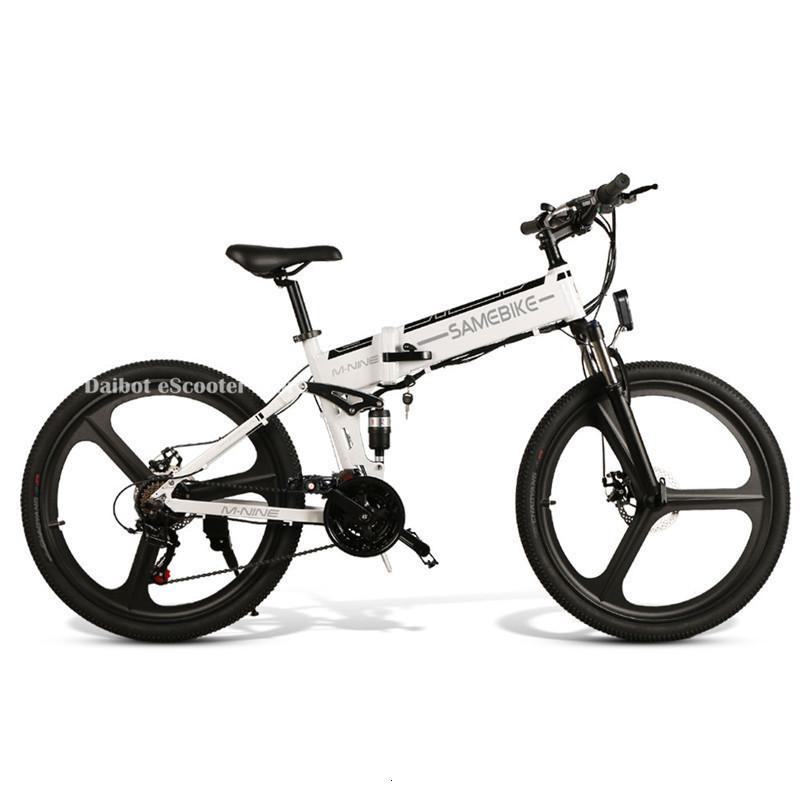 Europe Warehouse Sambike LO26 Powerful Electric Bicycle 2 Wheels Electric Bicycles 48V 350W Folding Electric Scooter With Removable Battery