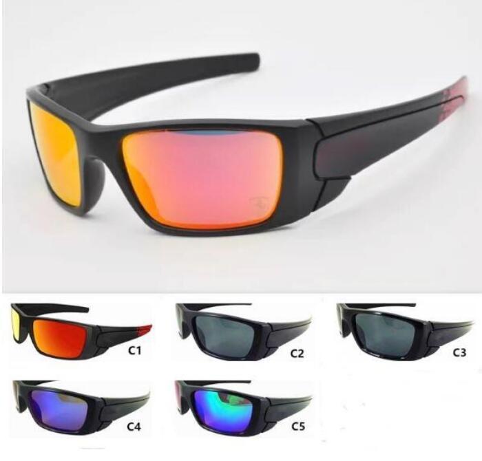 5 لون رجالي الرياضة نظارات كول إطار كبير في الهواء الطلق نظارات دراجة نارية النظارات للجنسين نظارات الشمس الدراجات النظارات