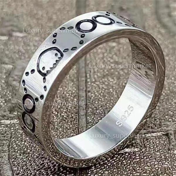 2021 gioielli uomini / donne moda anello di lusso in oro coppia anello s925 alto anello lucido scatola regalo A2