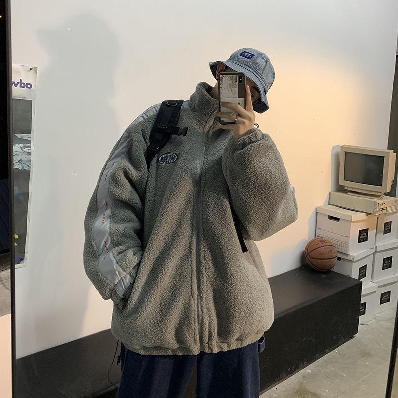 Männer Lässige Übergroße Verdicken Warme Jacken Frau Koreanische Streetwear Mäntel Mode Männliche Hip Hop Warme Kleidung