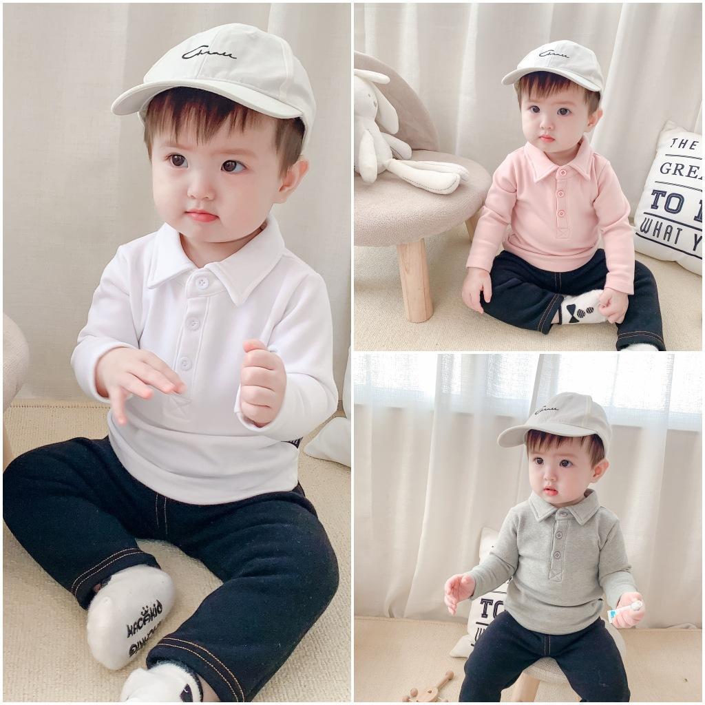 Designer Abbigliamento Bambini Bambina Designer Designer Vestiti Baby Infant Boy Toddler 2020 Moda Bambini Vestiti Ragazze Baby Polo Indumento superiore sfoderato