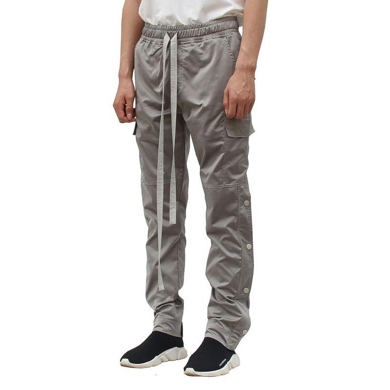 Nebbia High Street Kanye Muscle Side Bull Pantaloni Pantaloni Casual Tuta