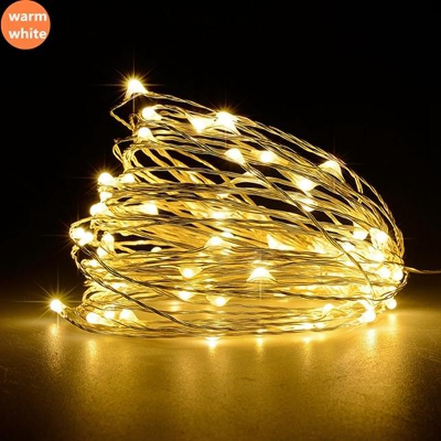 Osiden Usb Led Strings Lights 10m 5m Waterproof Copper Wire Outdoor Lighting Christmas Wedding Decoration Fairy Wreath Warm Swy jllRiU