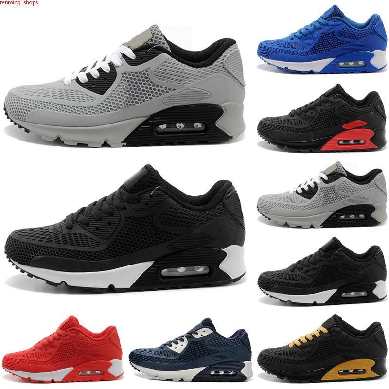 Max 90 KPU Nuevo 2021 Cojín de alta calidad 90 kpu para hombre para mujer clásico 90 zapatos casuales zapatillas zapatillas hombre caminando deportes tenis zapatos 36-45