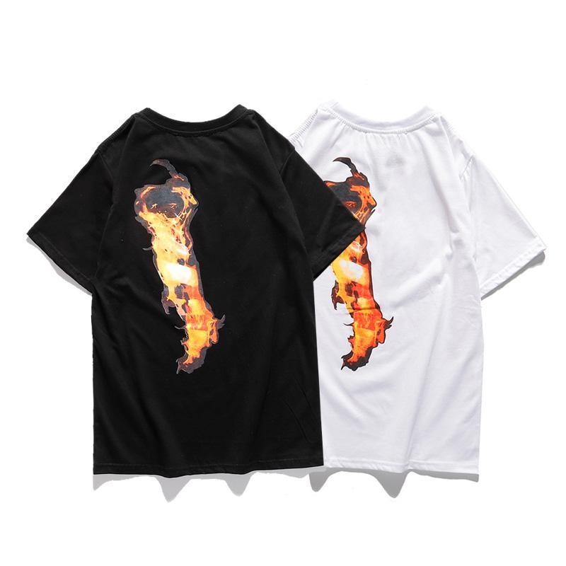 19SS Mode Femmes Hommes Stylistes T-shirts Mens HIP HOP STREETWEAR Amis de coton à manches courtes Big Femmes Skateboard Tees