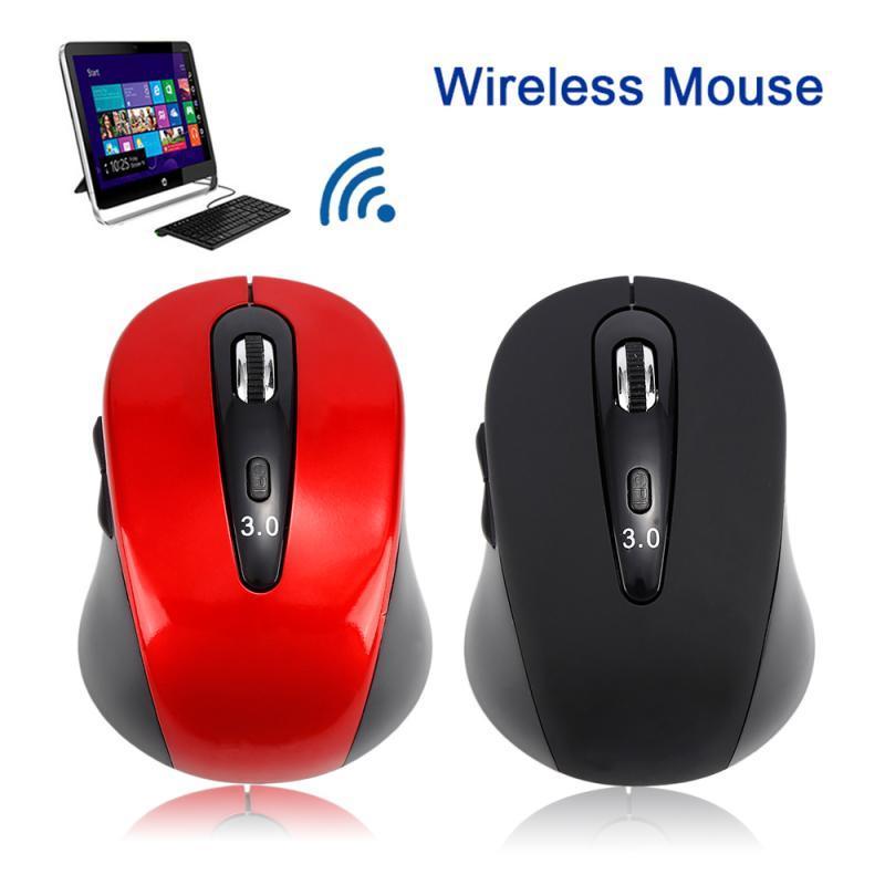 Bluetooth 6D einstellbar 1600DPI drahtloses optisches Spiel Mausmäuse für Laptop für Büro geeignet