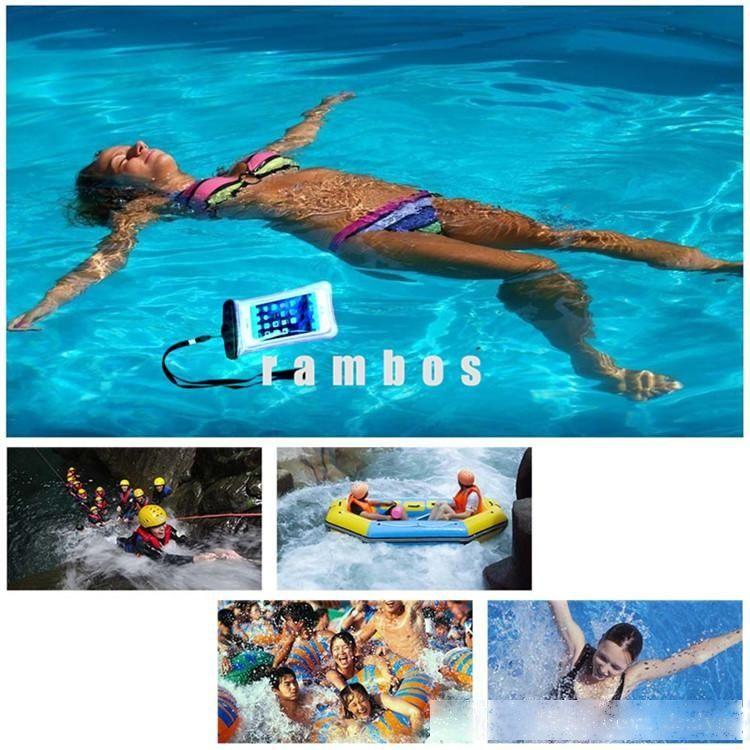 J7 Hülle Schwimmen Wasserdichte Floating Handy Pouch Wallet Fall Tasche für iPhone 5s / 6 / 6plus für Xiaomi Redmi 2