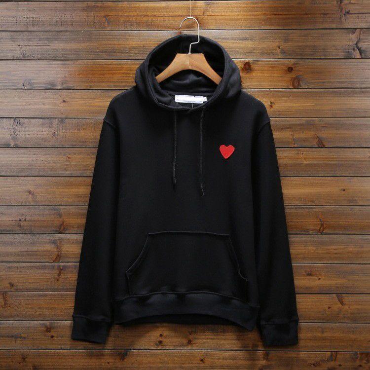 Erkekler için Marka Hoodies Sonbahar Erkek Hoodie Kazak Gevşek Stil Moda Gelgit Kışlık Kazak Homme Giyim Kalp Nakış S-3XL Ile