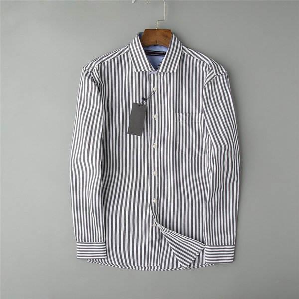2021 Tasarımcılar Erkek Elbise Gömlek Iş Moda Rahat Gömlek Markalar Erkekler Gömlek Bahar Slim Fit Gömlek Chemises de Marque