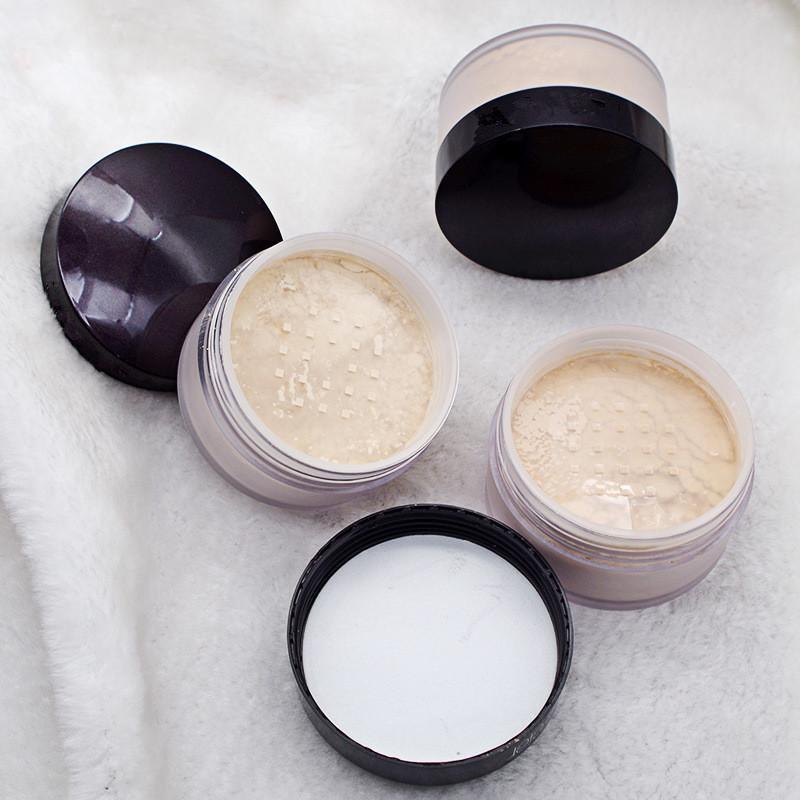 Nouveau paquet en boîte noire Fondation Réglage des lâches Poudre de maquillage poudre de maquillage Min Pore Brighten Compatible