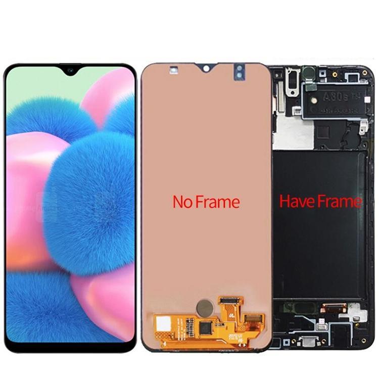 100% Tela testada para Samsung Galaxy A30s A307 Display LCD Touch Screen Digitador com telefone Touch Screen