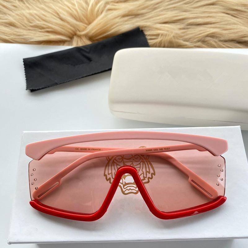 3088 Mode Neue Designer Sonnenbrille Retro Frameless Sonnenbrille Vintage Punk Style Eyewear Top Qualität UV400 Schutz mit Box