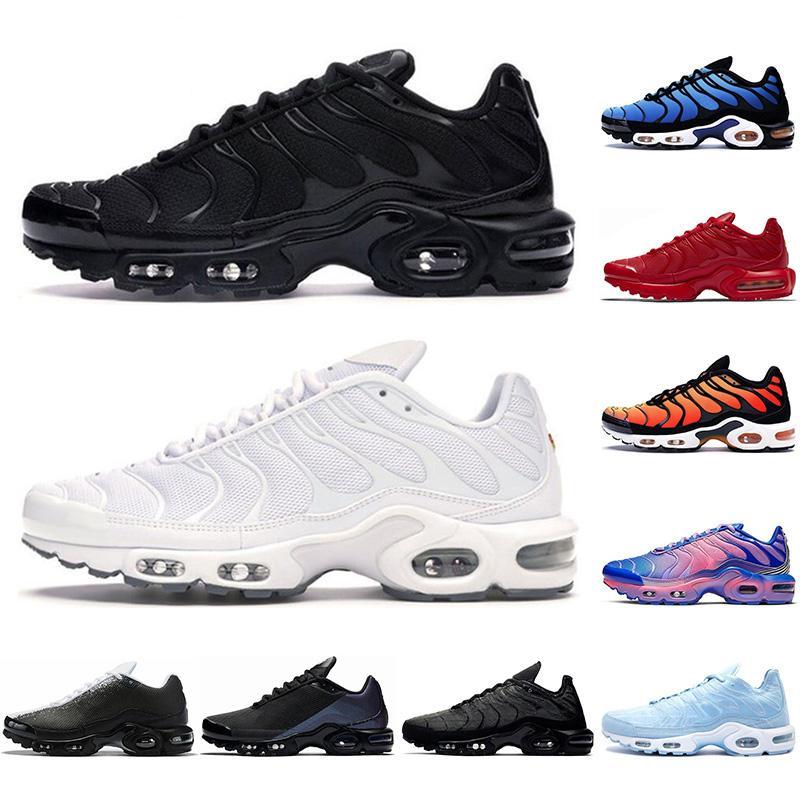 NikeairmaxTNPlus Mit socken tn plus männer laufschuhe dreifache schwarze weiß psychisch blue nheit lila pimento gelb helle herren trainer sport sneaker