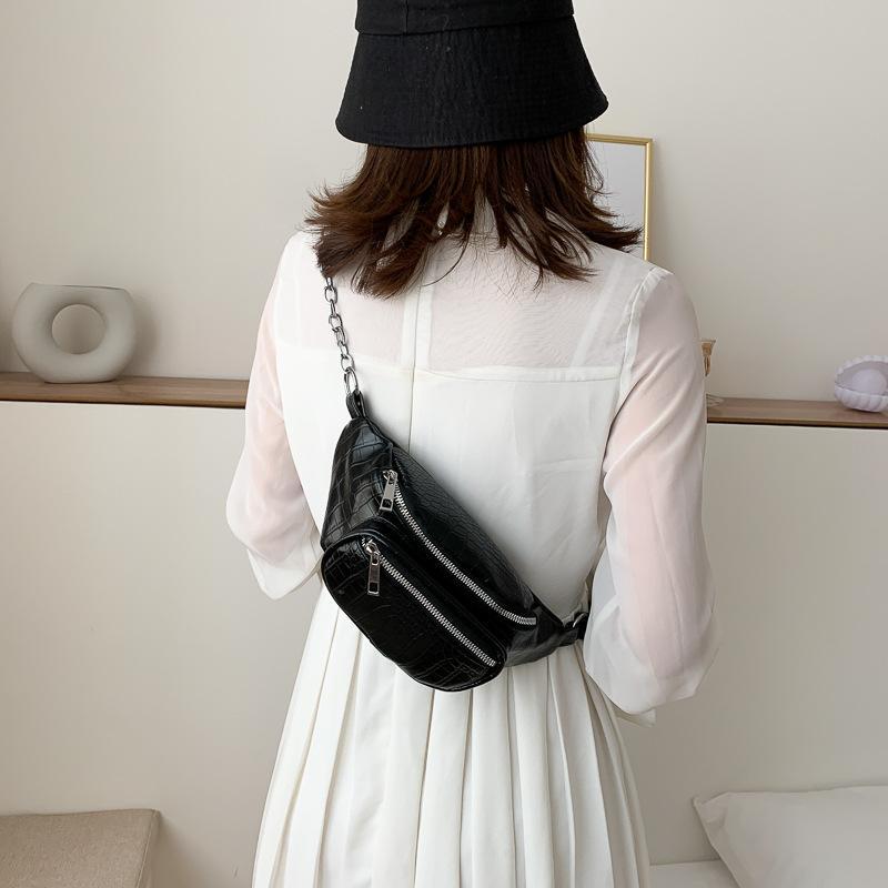 Body Been Crackle Леди Талия для сумки Женщина Банановая сумка 2020 Сумка SAC Мода Bumbag LNQOH Маленькие женщины QS Cross Rtjan