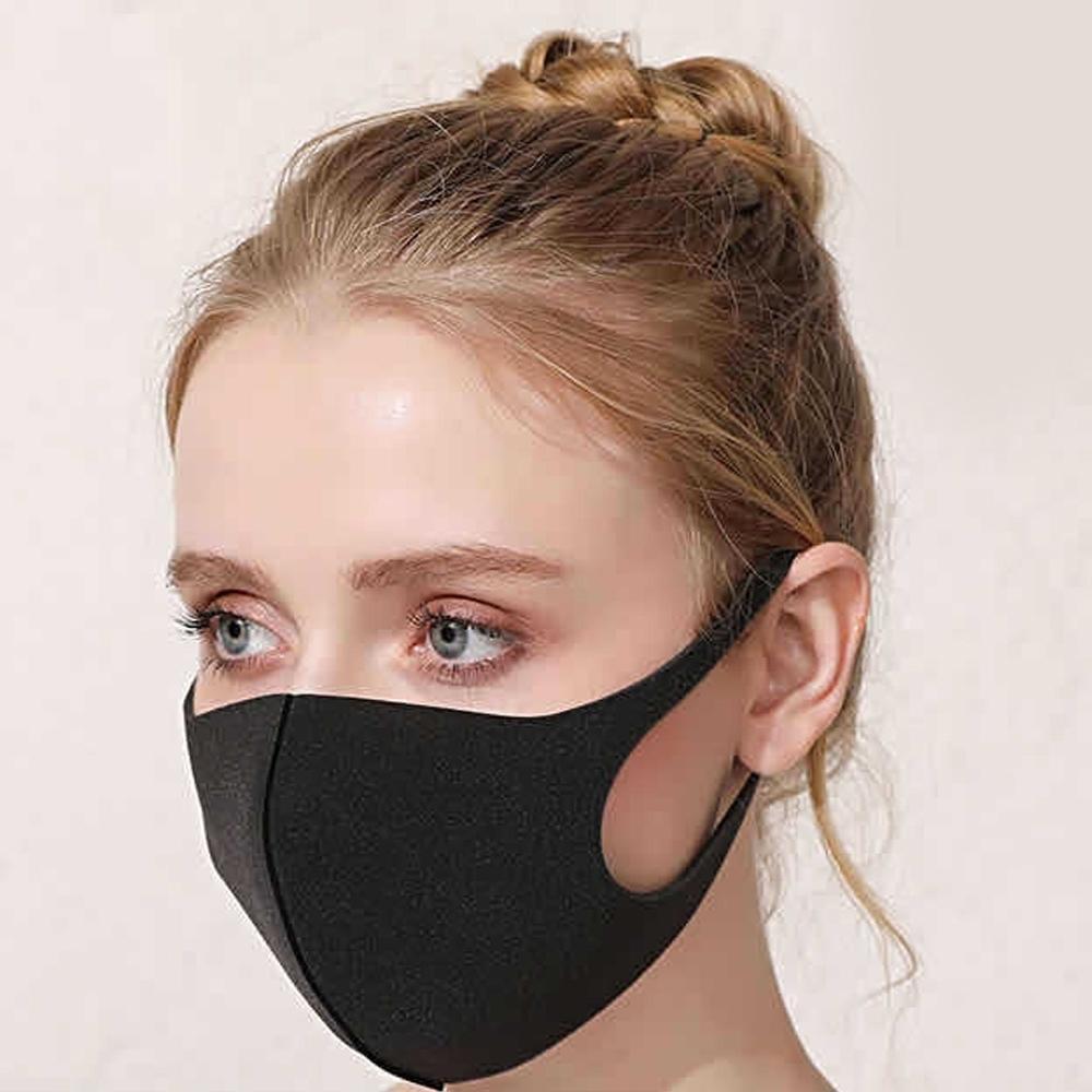 Многоразовые маски для лица Антиаллергические Маски для артиллергических рта Анти-пыль Анти загрязнение Маска Губка Маска Моющаяся многоразовая мрачная маска