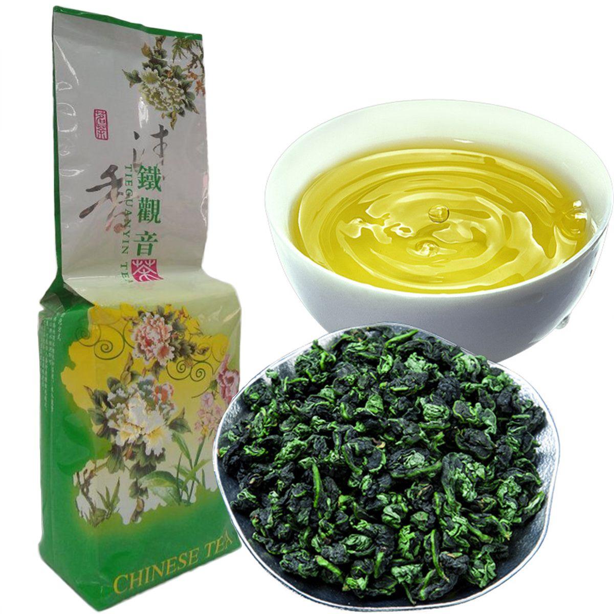 250g Promotion Vakuum Förpackning Premium Doftande Typ Traditionell Kinesisk Mjölk Oolong Te Tikuanyin Grön Te Hälsovård Tieguanyin Tea