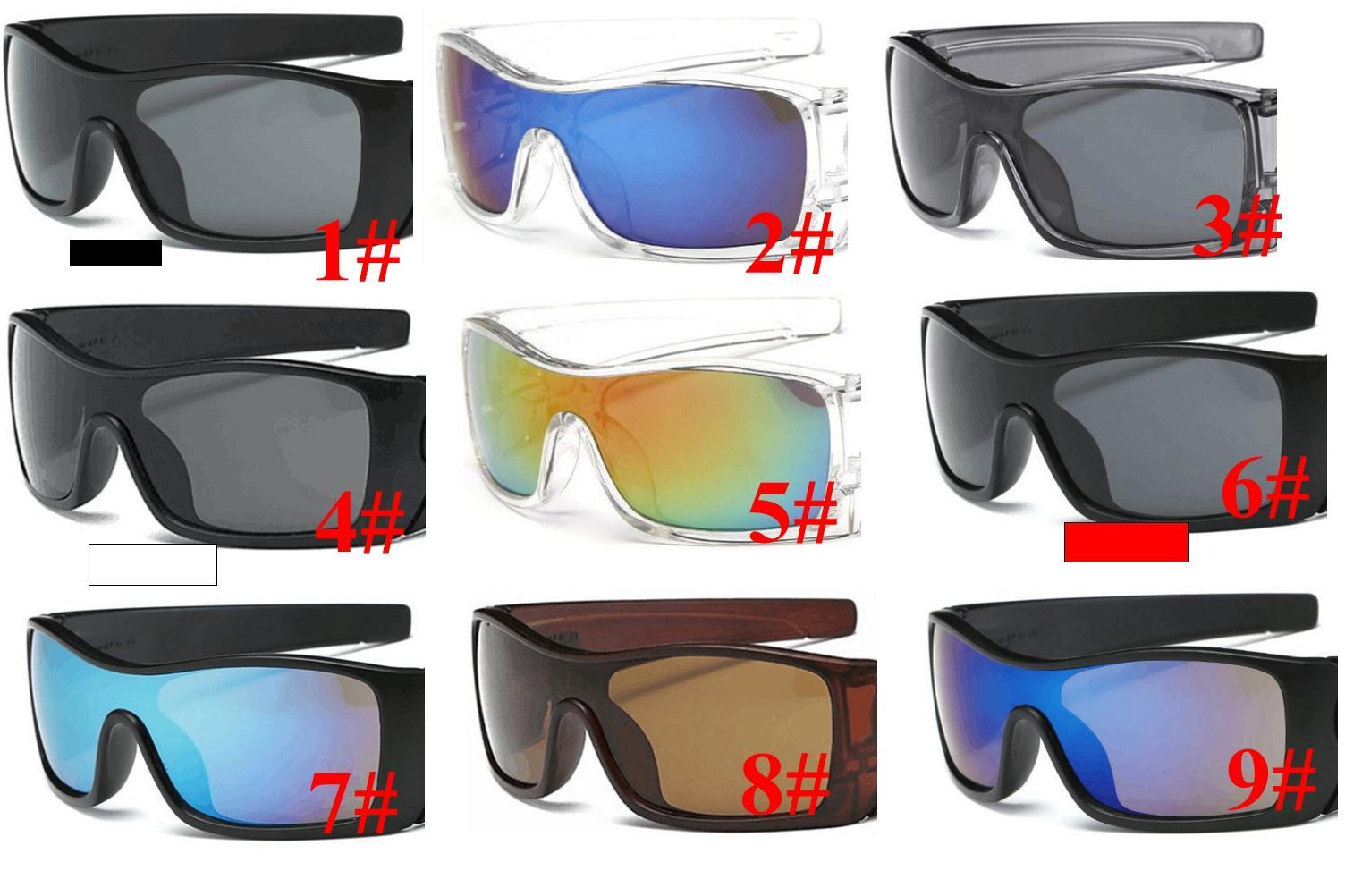 Скидка цена MOQ = 10шт. Горячие Солнцезащитные очки Мужчины Мода Спорт Мужчины Солнцезащитные Очки Волк Новые Моды Солнцезащитные Очки Ограничено Для МРН Споры Мода